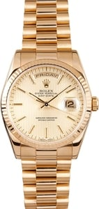 Used Rolex Presidential Gold Day-Date 118238 Mens