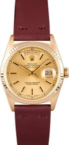 Mens Used Rolex President Gold Day-Date 18238