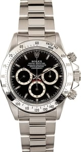 Black Rolex Daytona 16520