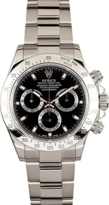 Stainless Steel Rolex Daytona Black
