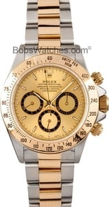 Rolex Daytona Stainless Steel & Gold