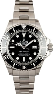 Pre Owned Ceramic Bezel Rolex Sea Dweller Deepsea 116660