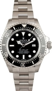Rolex Sea Dweller Deepsea 116660 100% Authentic