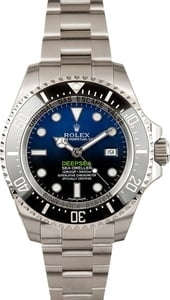 Rolex Deepsea Blue 116660B 100% Authentic