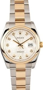 Rolex Datejust Watch 116203 Jubilee Diamond