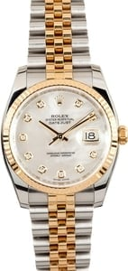 Rolex Datejust MOP Diamond 116233