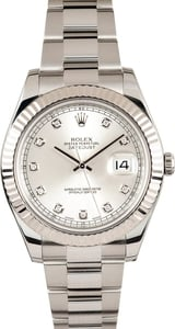 Rolex DateJust 41MM 116334 Diamond Dial