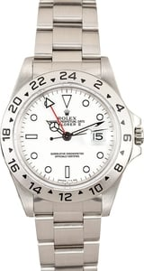 Used Men's Rolex Explorer II Men's Stainless Steel Watch 16570