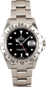 Men's Rolex Explorer II Stainless Steel Watch 16570