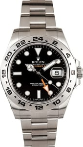 Rolex Explorer II Black 216570