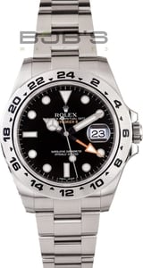 Rolex Explorer II Black Face 216570