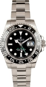 Rolex Men's GMT-Master II 116710 w/ green GMT hand