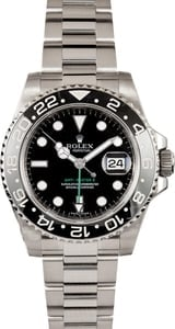 Pre-Owned Rolex GMT-Master II 116710 Black TT