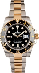 Black Ceramic Submariner 116613