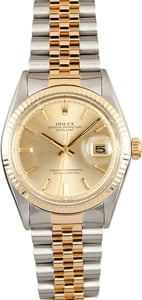 Rolex Two Tone DateJust 1601