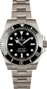 Rolex Ceramic Submariner 114060 No Date