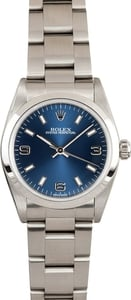 Rolex Midsize Oyster Perpetual Steel Watch 77080