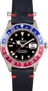 Pre-Owned Men's Rolex GMT-Master II Stainless Steel Model 16710
