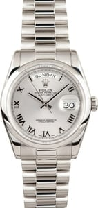 Rolex President Platinum Day-Date 118206