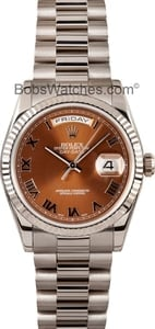 Rolex Presidential White Gold