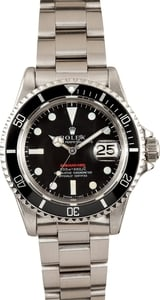 Rolex Red Submariner 1680 at Bob's