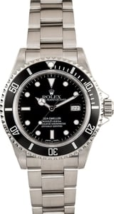 Used Rolex Sea-Dweller 16600 Stainless Steel