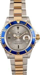 Rolex Men's Submariner Two Tone 16613