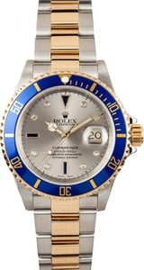 Rolex Men's Serti Dial Submariner 16613