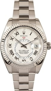 Rolex Men's Sky-Dweller White Gold 326939