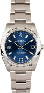 Rolex Air-King Stainless Steel 114200 Model Luminous