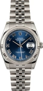 Rolex DateJust 116234 Blue Roman