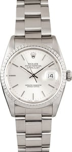 Pre Owned Rolex DateJust Stainless Steel 16220