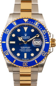 Rolex Submariner Yellow Gold & Steel 126613