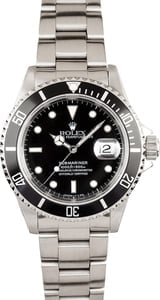 Pre-Owned Rolex Submariner in Steel 16610