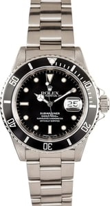 Rolex Submariner Watch 16610BKSO