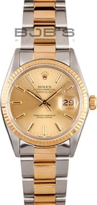 Steel & Gold Rolex Datejust
