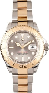 Pre-Owned Men's Rolex Yachtmaster Stainless Steel and Gold 16623