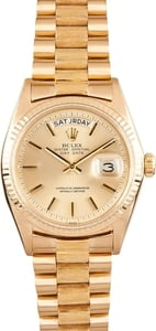 Rolex President Yellow Gold Day-Date 1803