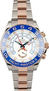 Rolex Yacht-Master 116681 Two Tone Rose Gold Oyster