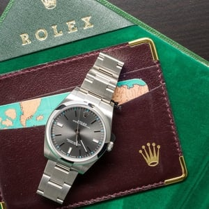 Rolex Oyster Perpetual 114300 Certified Pre-Owned