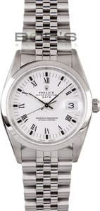 Rolex Date Stainless Steel 15200