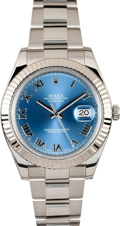 Rolex DateJust II 116334 Blue Dial