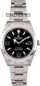 Stainless Steel Rolex Explorer 214270