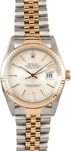 Two Tone Mens Datejust 16013