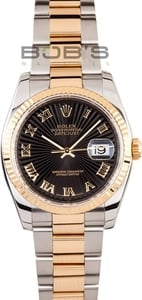Rolex Stainless and Gold DateJust 116233