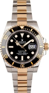 Ceramic Rolex Submariner 116613 Two Tone