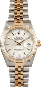 Pre-Owned Men's Rolex Oyster Perpetual DateJust Stainless Steel and Gold 16013