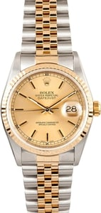 Rolex Two tone DateJust 16233