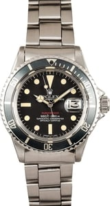 Rolex Red Submariner Model 1680