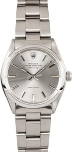 Pre Owned Men's Rolex Air-King Stainless Steel 5500